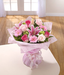 peaceful_pink_hand_tied_bouquets